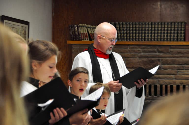 Choral Summer Camp at St. Andrews, Lake Almanor